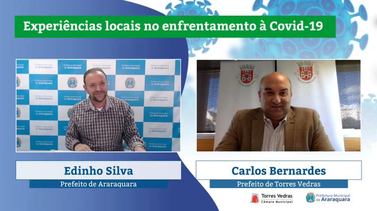 Araraquara e Torres Vedras compartilham experiências no combate à Covid-19
