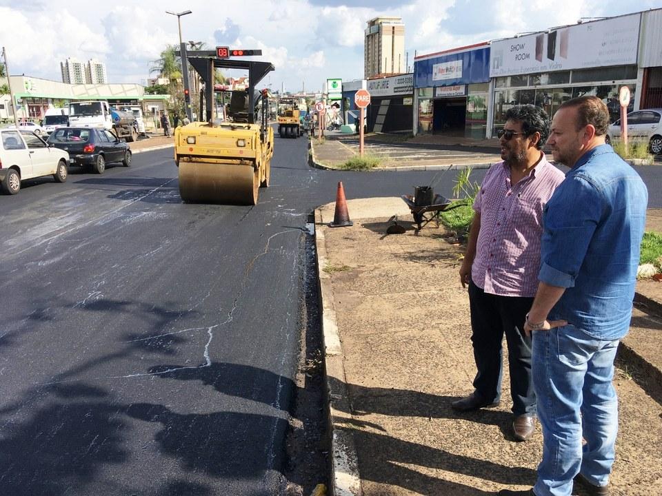 Desde 2017, Araraquara teve mais de 75 km de vias recapeadas